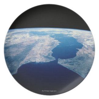 Strait of Gibraltar Dinner Plate