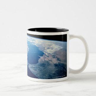 Strait of Gibraltar Two-Tone Coffee Mug
