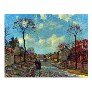 Strait of Louveciennes by Camille Pissarro Postcard