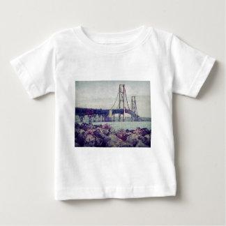 Straits of Mackinac Baby T-Shirt
