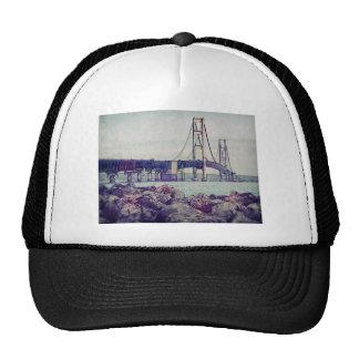 Straits of Mackinac Trucker Hats