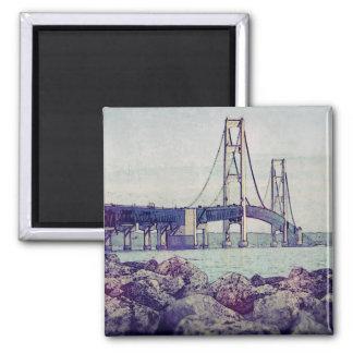 Straits of Mackinac Magnet