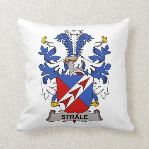 Strale Family Crest Pillows