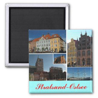 Stralsund 2 Inch Square Magnet