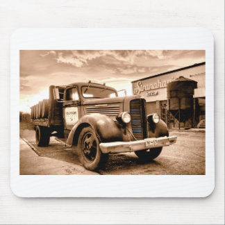 Stranahans Delivery Truck - Sepia Toned Mouse Pad