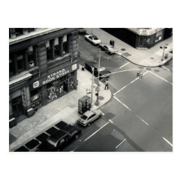 Strand Book Store of NYC (vintage photo from 1971) Postcard
