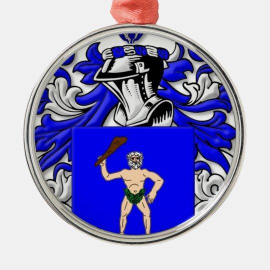 Strand Coat of Arms Metal Ornament