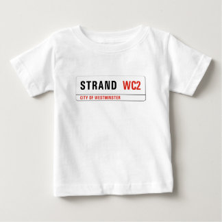 Strand, London Street Sign Baby T-Shirt