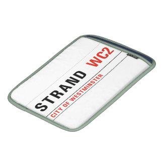 Strand, London Street Sign iPad Sleeves