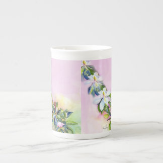 Strand of Flowers Tea Cup