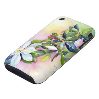 Strand of Flowers Tough iPhone 3 Cover
