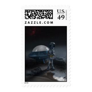 Stranded Alien Postage