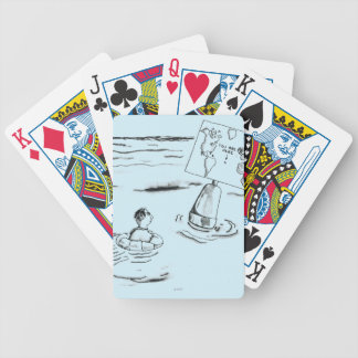 Stranded Bicycle Playing Cards