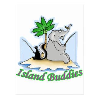 Stranded Elephant Postcard