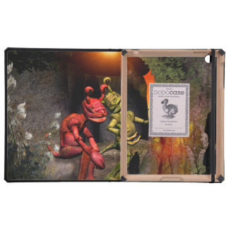 Stranded on a strange planet iPad cover