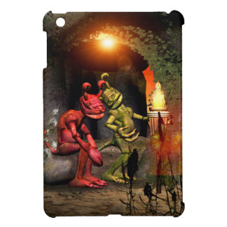 Stranded on a strange planet iPad mini case