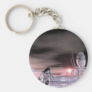 stranded on the edge of time keychain