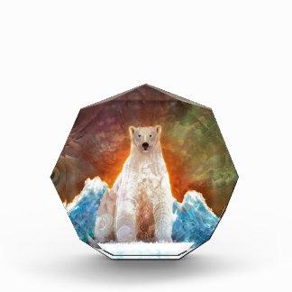 Stranded Polarbear Acrylic Award