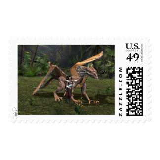 Stranded Postage Stamp