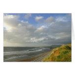 Strandhill Ireland Ocean Beaches Couds Sky Card