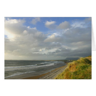 Strandhill Ireland Ocean Beaches Couds Sky Cards