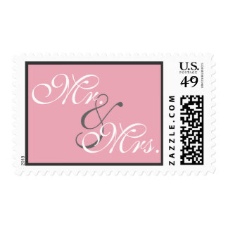 Strands of Pearls on Pink Stamp