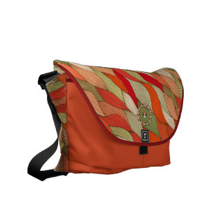 Strands orange Rickshaw Messenger Bag