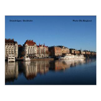 Strandvägen, Estocolmo, Ola de la foto… Postales