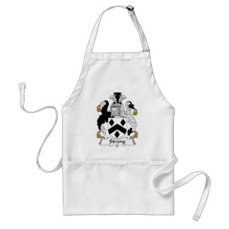 Strang Family Crest Adult Apron