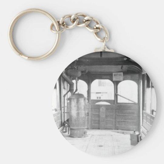Strang Line Trolley Car Keychain