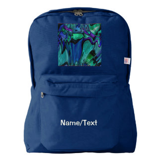 strange abstract 11 backpack