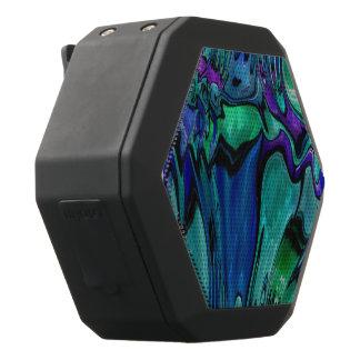 strange abstract 11 black bluetooth speaker