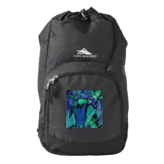 strange abstract 11 high sierra backpack