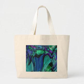 strange abstract 11 large tote bag
