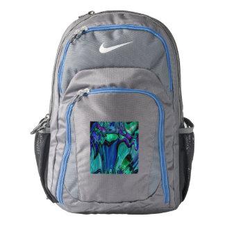 strange abstract 11 nike backpack