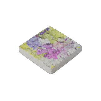 strange abstract 2 soft stone magnet