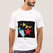 STRANGE ABSTRACT ART T-SHIRT