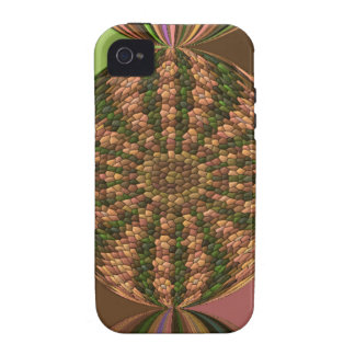 Strange abstract pattern vibe iPhone 4 covers