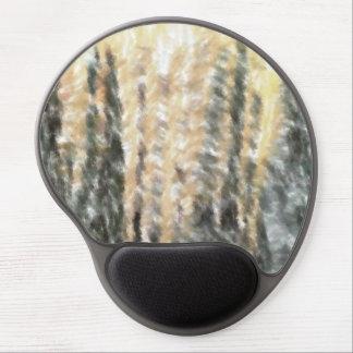 Strange abstract pattern gel mousepads