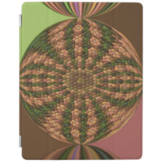 Strange abstract pattern iPad cover