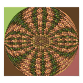 Strange abstract pattern photo