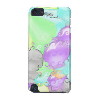 Strange abstract pattern with bright colors iPod touch 5G case