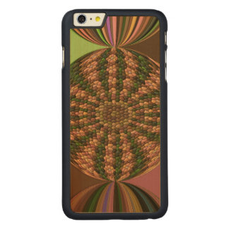Strange abstract pattern carved® maple iPhone 6 plus case