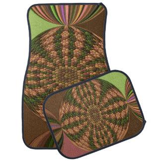 Strange abstract pattern floor mat