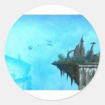 strange alien world stickers