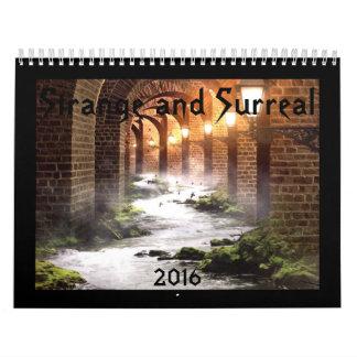 Strange and Surreal 2016 Calendar
