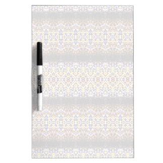 Strange and unusual pattern dry erase board