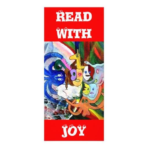 Strange Art Personalized Rack Card
