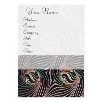 STRANGE ATTRACTORS LARGE BUSINESS CARDS (Pack OF 100)