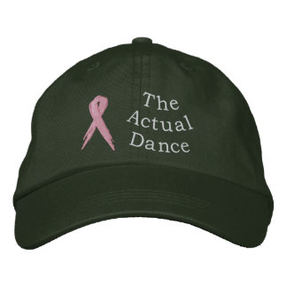 Strange Bedfellow: The Actual Dance Hat Embroidered Baseball Cap